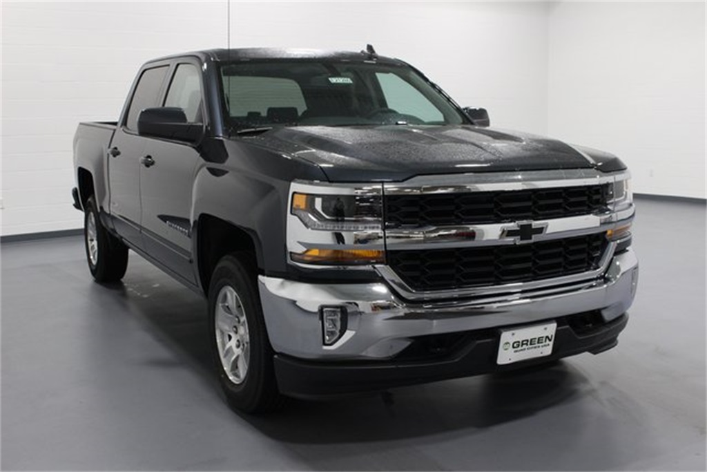 2018 Silverado 1500 Crew Cab 4x4,  Pickup #E21280 - photo 1