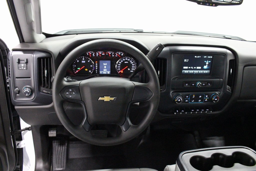 2018 Silverado 3500 Regular Cab DRW 4x2,  Knapheide Platform Body #E21393 - photo 16