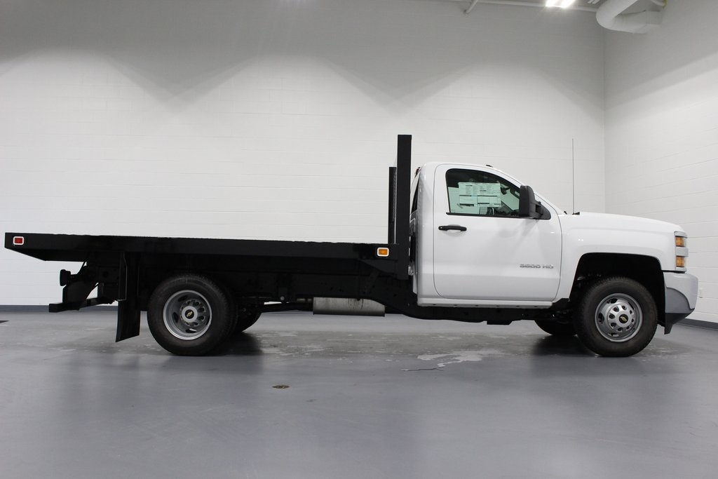 2018 Silverado 3500 Regular Cab DRW 4x2,  Knapheide Platform Body #E21393 - photo 8