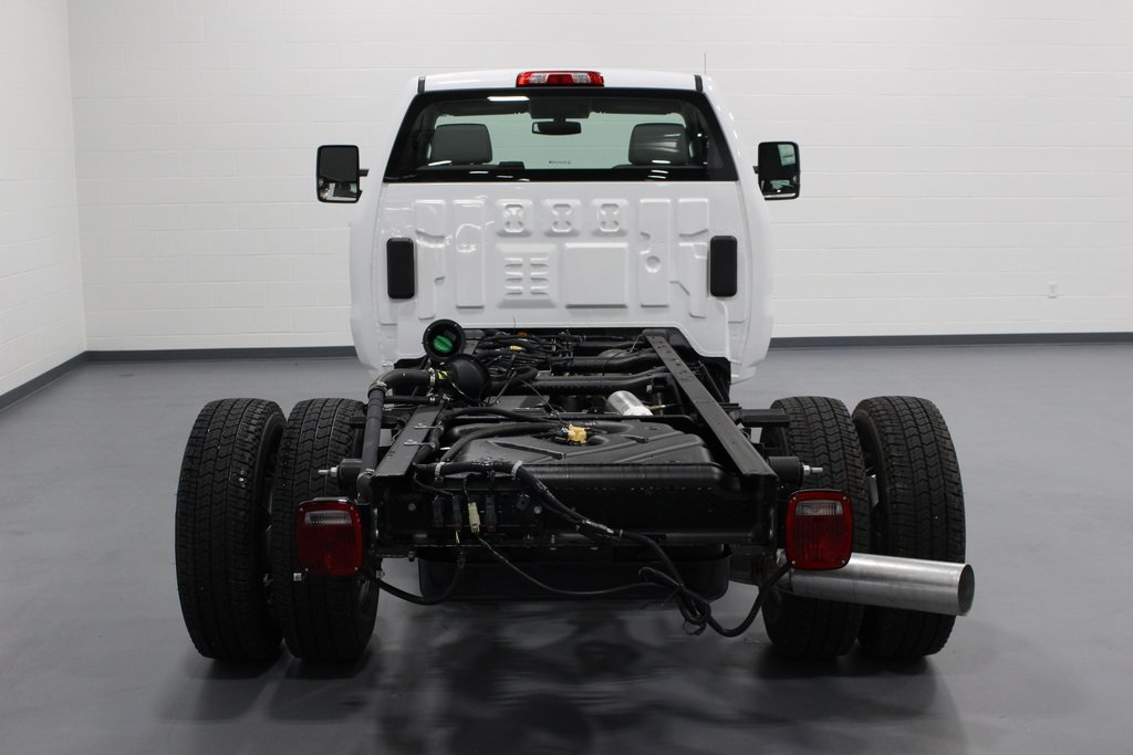 2019 Silverado 3500 Regular Cab DRW 4x4,  Cab Chassis #E21468 - photo 6