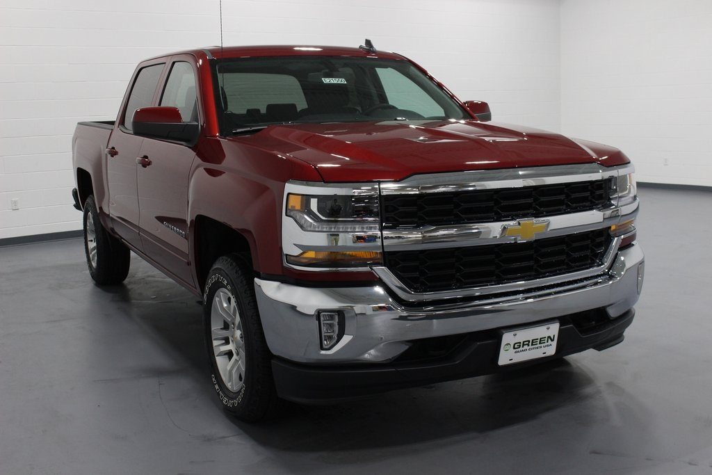 2018 Silverado 1500 Crew Cab 4x4,  Pickup #E21550 - photo 3