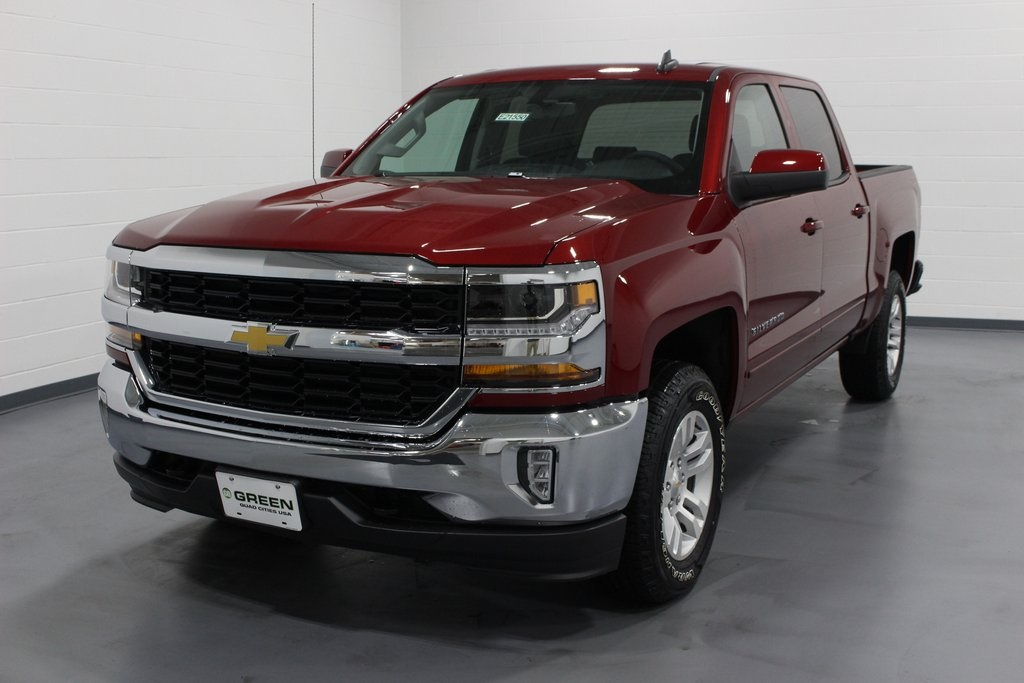 2018 Silverado 1500 Crew Cab 4x4,  Pickup #E21550 - photo 1
