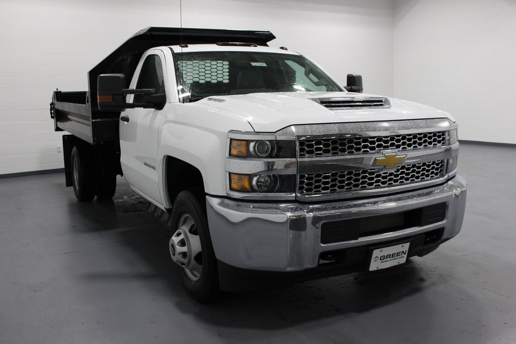 2019 Silverado 3500 Regular Cab DRW 4x4,  Knapheide Dump Body #E21665 - photo 3