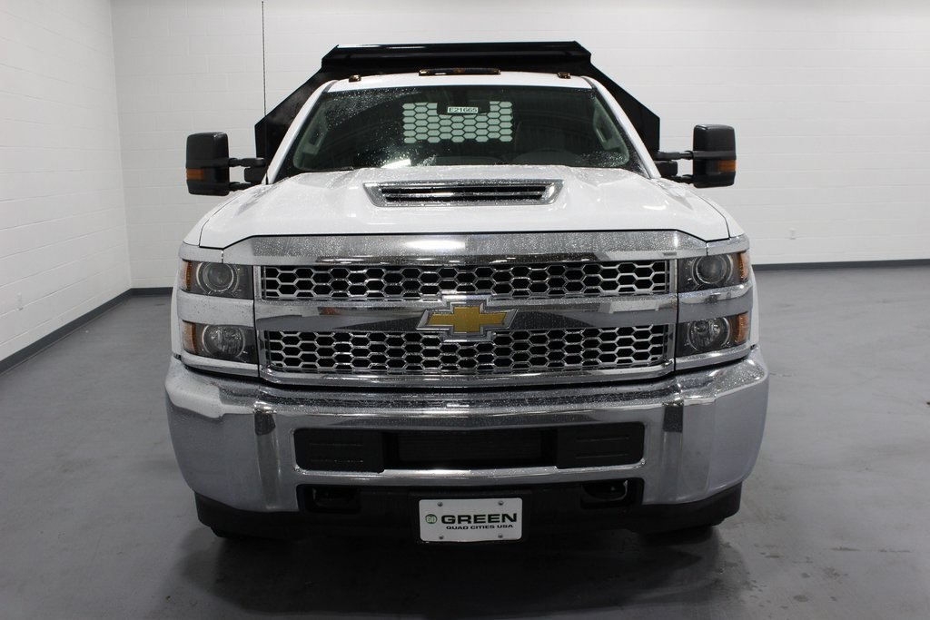 2019 Silverado 3500 Regular Cab DRW 4x4,  Knapheide Dump Body #E21665 - photo 4