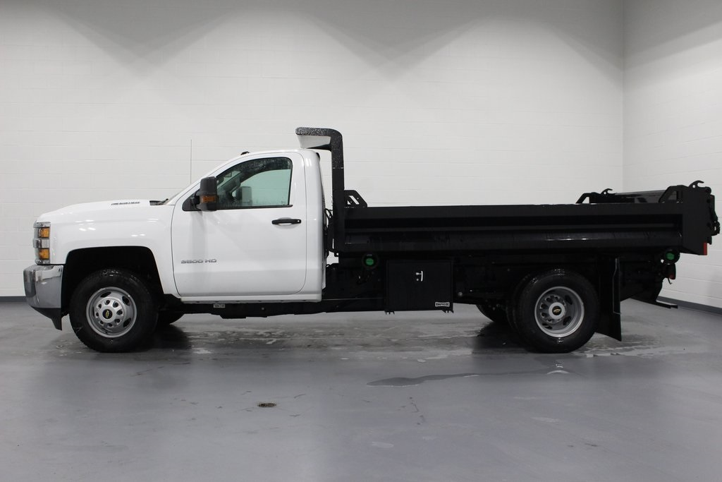 2019 Silverado 3500 Regular Cab DRW 4x4,  Knapheide Dump Body #E21665 - photo 5
