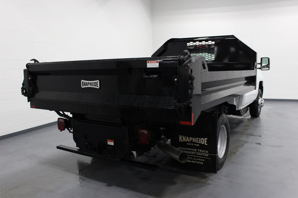 2019 Silverado 3500 Regular Cab DRW 4x4,  Knapheide Dump Body #E21665 - photo 7