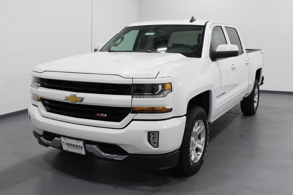 2018 Silverado 1500 Crew Cab 4x4,  Pickup #E21677 - photo 1