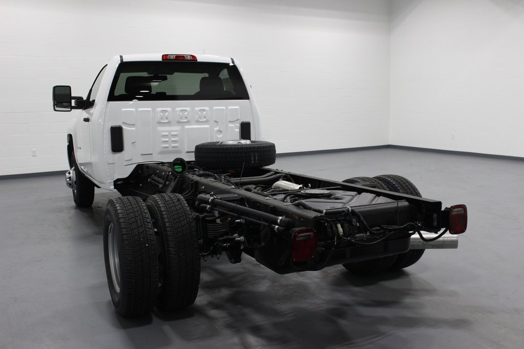 2019 Silverado 3500 Regular Cab DRW 4x4,  Cab Chassis #E21762 - photo 1