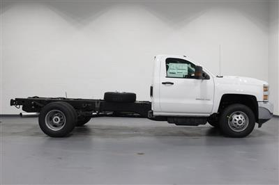 2019 Silverado 3500 Regular Cab DRW 4x4,  Cab Chassis #E21762 - photo 8