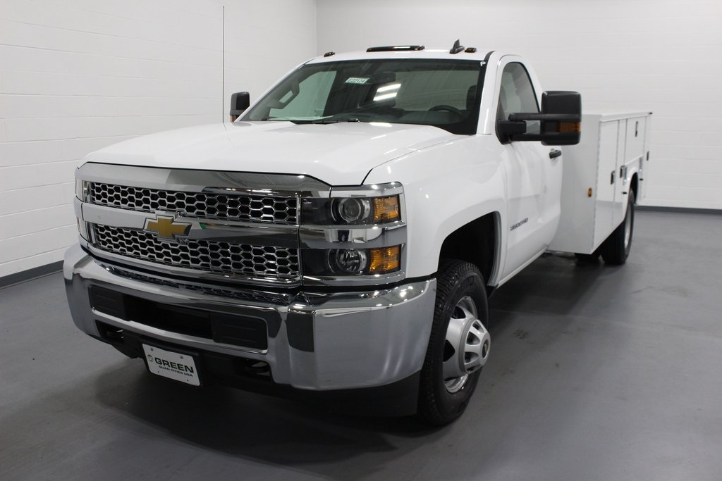2019 Silverado 3500 Regular Cab DRW 4x4,  Cab Chassis #E22124 - photo 1
