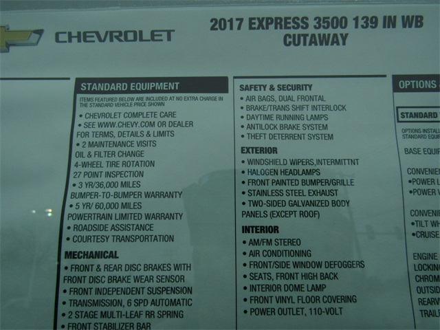 2017 Express 3500, Reading Service Utility Van #C1151 - photo 5