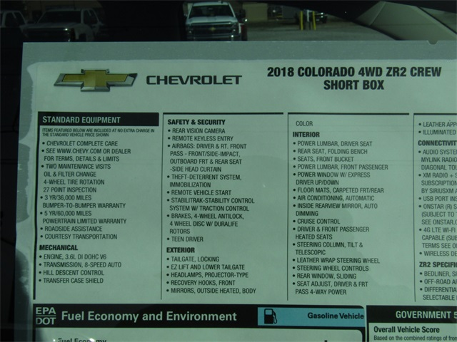 2018 Colorado Crew Cab 4x4, Pickup #C1204 - photo 5