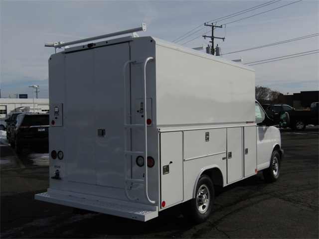 2017 Express 3500, Reading Service Utility Van #C1220 - photo 2