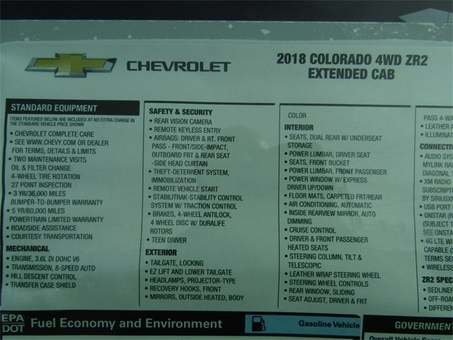 2018 Colorado Extended Cab 4x4,  Pickup #C1249 - photo 4