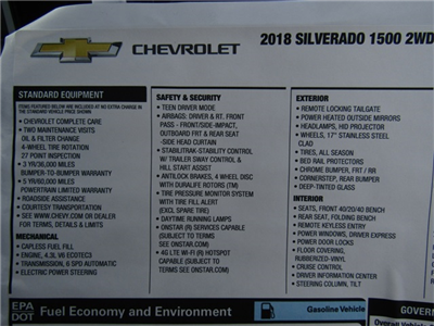 2018 Silverado 1500 Double Cab, Pickup #C1325 - photo 9