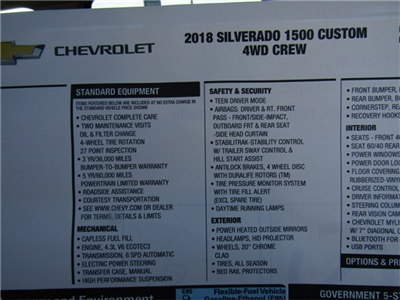 2018 Silverado 1500 Crew Cab 4x4, Pickup #C1328 - photo 11