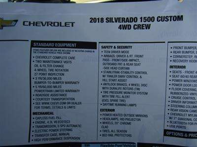 2018 Silverado 1500 Crew Cab 4x4, Pickup #C1341 - photo 9