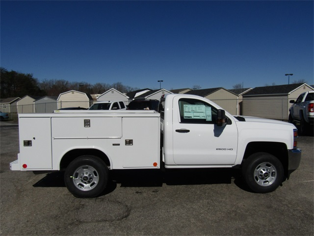 2018 Silverado 2500 Regular Cab 4x2,  Reading Service Body #C1394 - photo 8