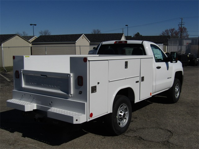 2018 Silverado 2500 Regular Cab 4x2,  Reading Service Body #C1394 - photo 2