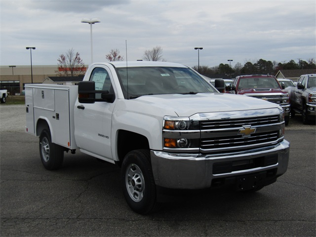 2018 Silverado 2500 Regular Cab 4x2,  Reading Service Body #C1460 - photo 3