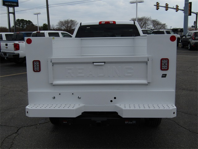 2018 Silverado 2500 Regular Cab 4x2,  Reading Service Body #C1460 - photo 6