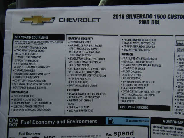 2018 Silverado 1500 Double Cab 4x2,  Pickup #C1562 - photo 7