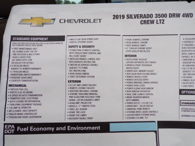 2019 Silverado 3500 Crew Cab 4x4,  Pickup #C1834 - photo 10