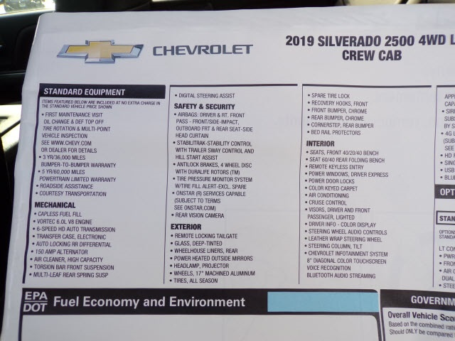 2019 Silverado 2500 Crew Cab 4x4,  Pickup #C1894 - photo 8