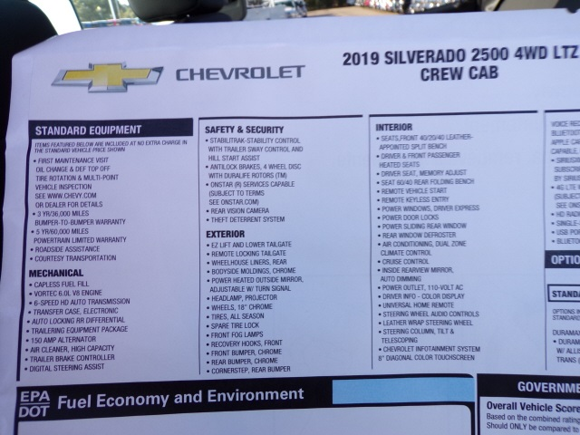 2019 Silverado 2500 Crew Cab 4x4,  Pickup #C2186 - photo 9