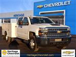 2019 Silverado 3500 Crew Cab DRW 4x4,  Reading Service Body #C2199 - photo 1