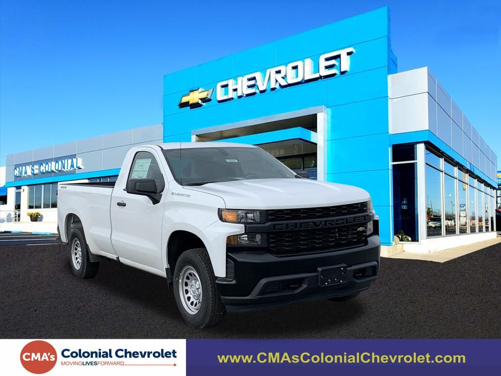2020 Chevrolet Silverado 1500 Regular Cab 4x4, Pickup #C2850 - photo 1