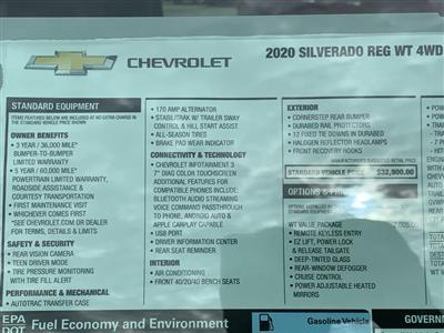 2020 Chevrolet Silverado 1500 Regular Cab 4x4, Pickup #C2850 - photo 19