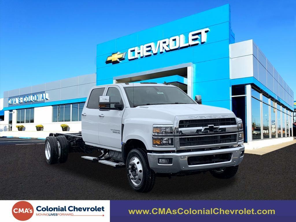 2020 Chevrolet Silverado 5500 Crew Cab DRW 4x2, Cab Chassis #C2857 - photo 1