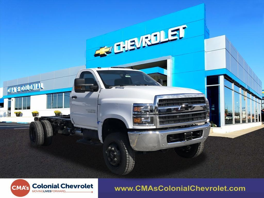 2020 Chevrolet Silverado 5500 Regular Cab DRW 4x4, Cab Chassis #C3278 - photo 3