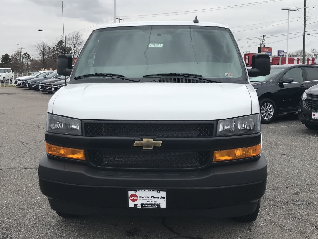2021 Chevrolet Express 2500 4x2, Empty Cargo Van #C3531 - photo 3