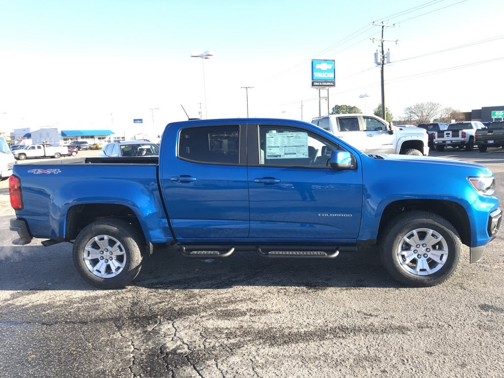 2021 Chevrolet Colorado Crew Cab 4x4, Pickup #C3661 - photo 9