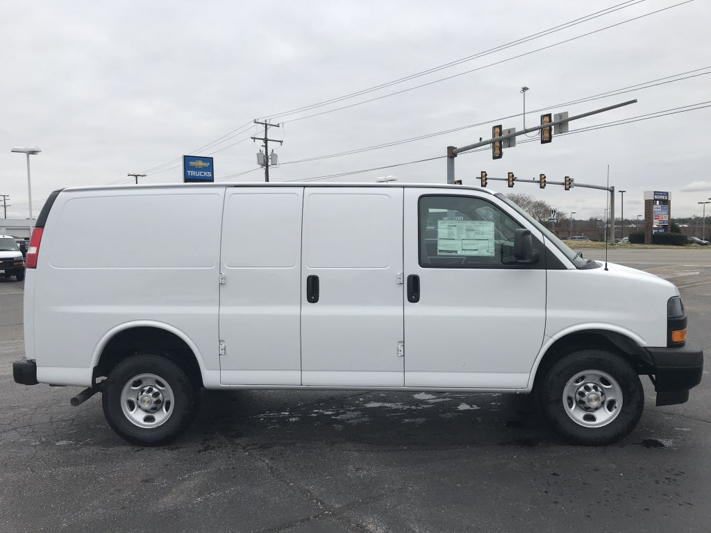 2021 Chevrolet Express 2500 4x2, Empty Cargo Van #C3678 - photo 10