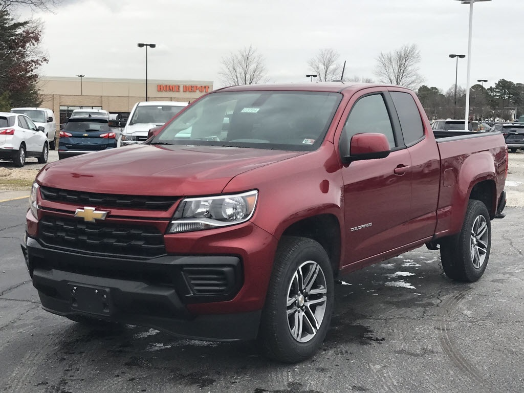 2021 Chevrolet Colorado Extended Cab 4x2, Pickup #C3704 - photo 5
