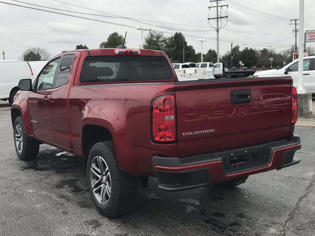 2021 Chevrolet Colorado Extended Cab 4x2, Pickup #C3704 - photo 7
