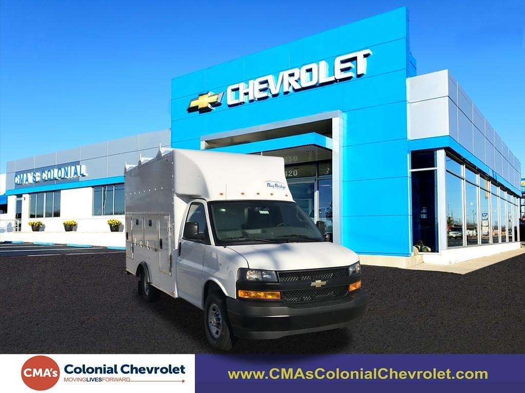 2020 Chevrolet Express 3500 4x2, Bay Bridge Service Utility Van #C3772 - photo 1