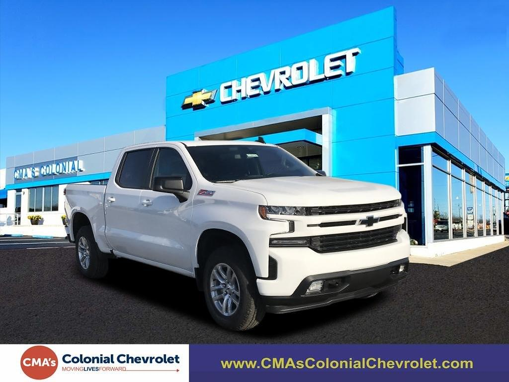 2021 Chevrolet Silverado 1500 Crew Cab 4x4, Pickup #C3818 - photo 1
