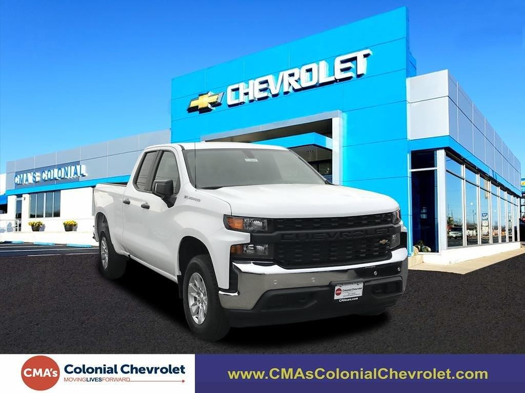 2021 Chevrolet Silverado 1500 Double Cab 4x2, Pickup #C3866 - photo 1