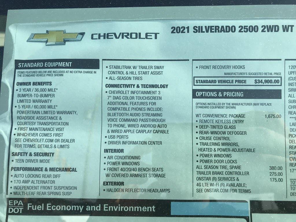2021 Silverado 2500 Regular Cab 4x2,  Reading SL Service Body #C3922 - photo 13