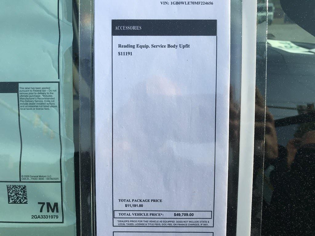 2021 Silverado 2500 Regular Cab 4x2,  Reading SL Service Body #C3922 - photo 15