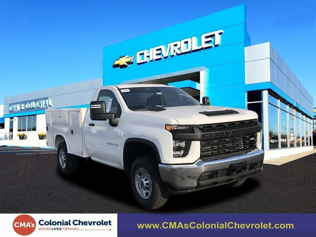 2021 Chevrolet Silverado 2500 Regular Cab 4x4, Reading SL Service Body #C3926 - photo 1