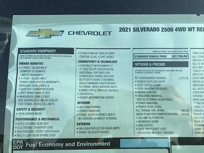 2021 Chevrolet Silverado 2500 Regular Cab 4x4, Reading SL Service Body #C3926 - photo 14