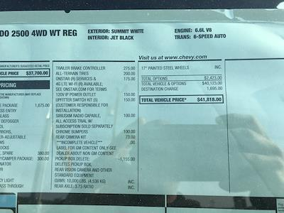 2021 Chevrolet Silverado 2500 Regular Cab 4x4, Reading SL Service Body #C3926 - photo 15