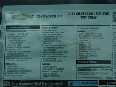 2017 Silverado 1500 Crew Cab, Pickup #C750 - photo 8