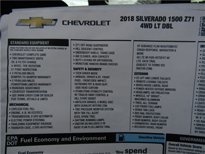2018 Silverado 1500 Double Cab 4x4, Pickup #C859 - photo 12