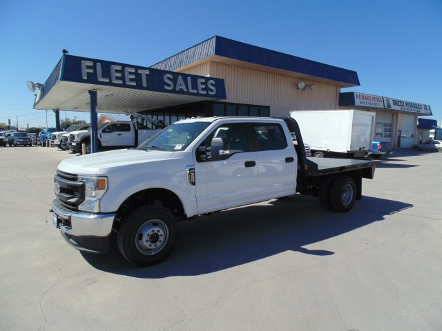 2020 Ford F-350 Crew Cab DRW 4x4, CM Truck Beds Platform Body #204107 - photo 1